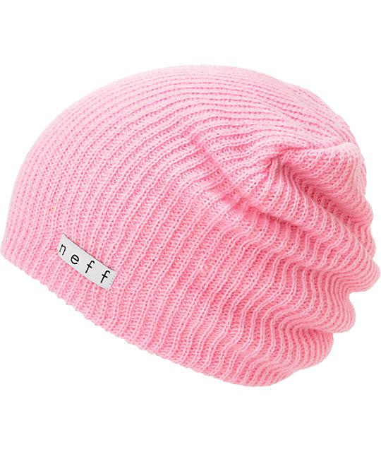 2fa1ac505c4 Neff Daily Light Pink Beanie