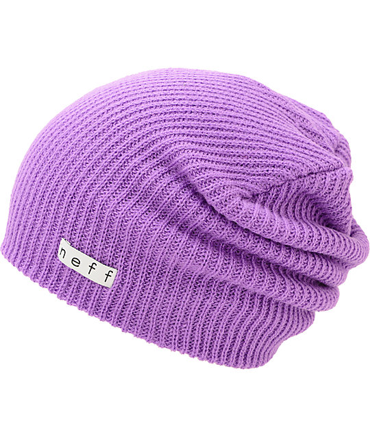 Neff Daily Neon Purple Beanie  64d7b1eb70c