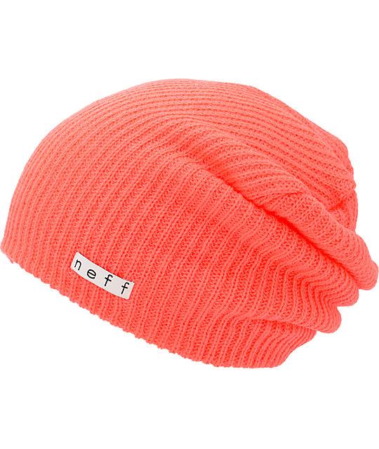Neff Daily Neon Red Beanie  8af319954da