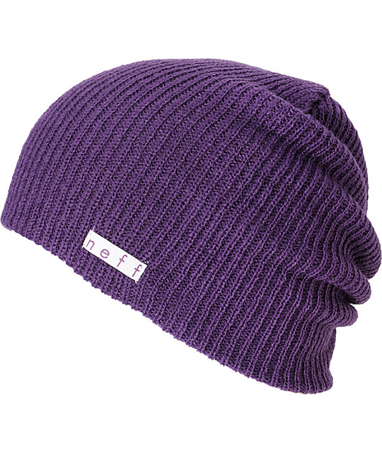 Neff Daily Purple Beanie  f38bcb060