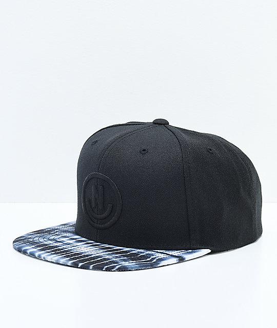 194ae6bcc85 Neff Daily Smile Black Snapback Hat