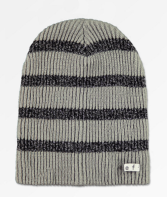3060c9b7d88 Neff Daily Sparkle Stripe Grey Beanie