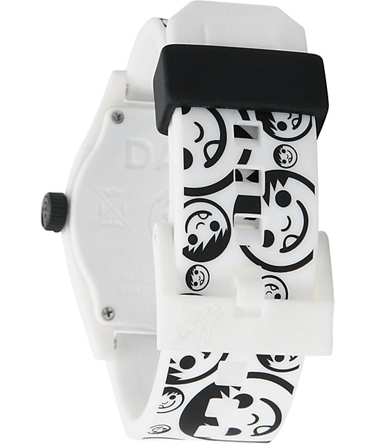 Neff Daily Sucker White & Black Analog Watch