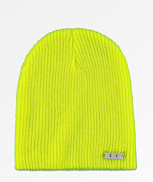 Neff Daily Tennis Ball Green Beanie