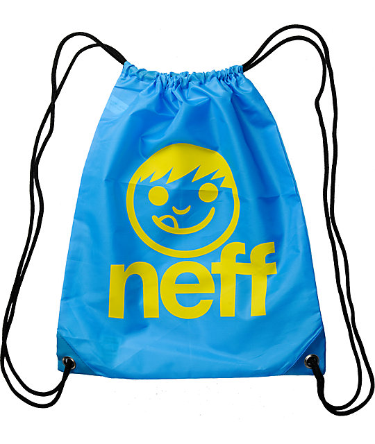 Neff Daily Turquoise Drawstring Bag