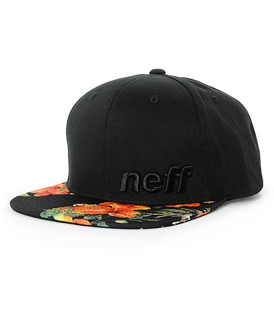 73f2b62a3b2 Neff Daily Vapay Floral Snapback Hat