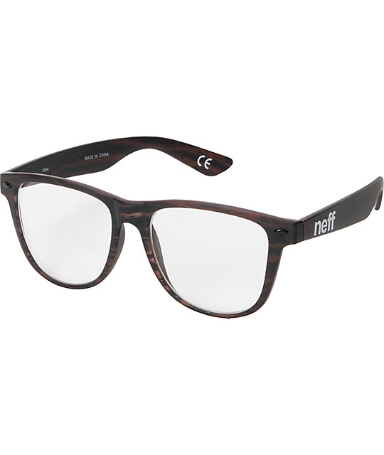 aa0f0d2d44f Neff Daily Wood Grain Glasses