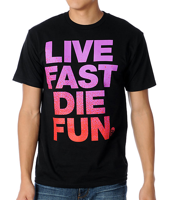 Neff Die Fun Black T-Shirt