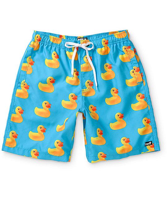 7b2146b3ad Neff Ducky Hot Tub 20 Board Shorts   Zumiez