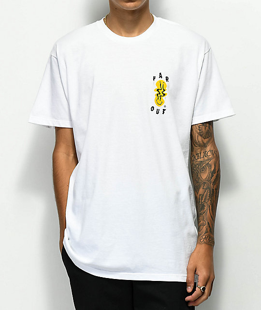 Neff Far Out White T-Shirt