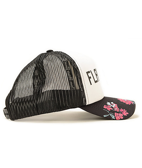 1c4eac1c845 ... Neff Flawless Floral Trucker Hat