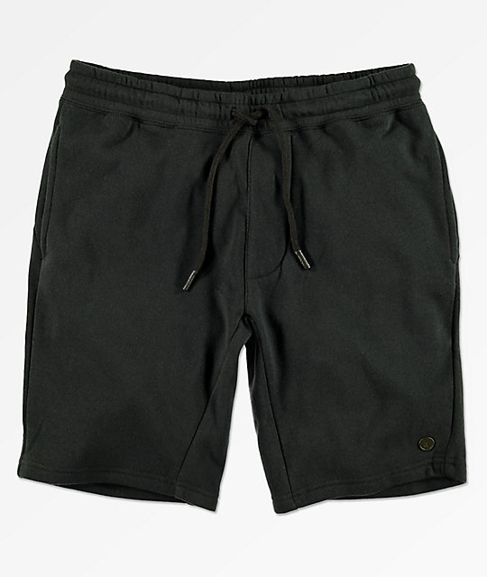 Neff Flow Black Sweat Shorts