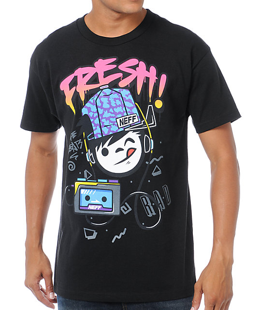 Neff Fresh Sucker Black T-Shirt