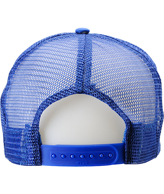 Neff Fusion Blue Trucker Hat