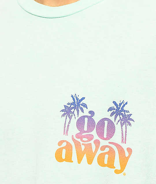 Neff Go Away Mint Wash T-Shirt