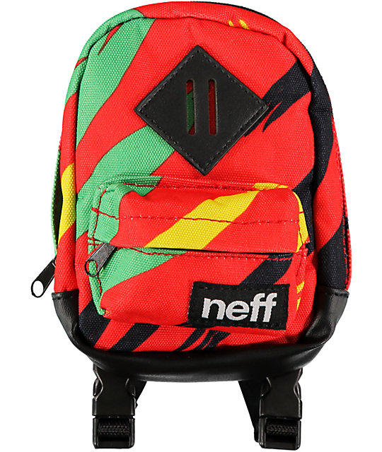 Neff Highback Rasta Backpack