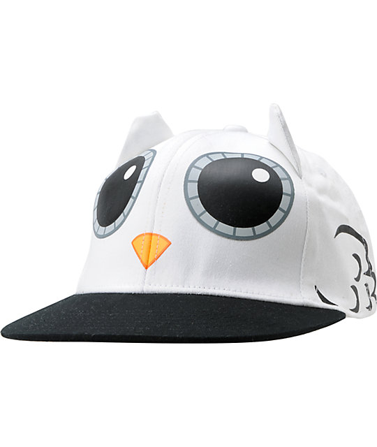 091ab73dfc3 Neff Hootie White Owl Animal Hat