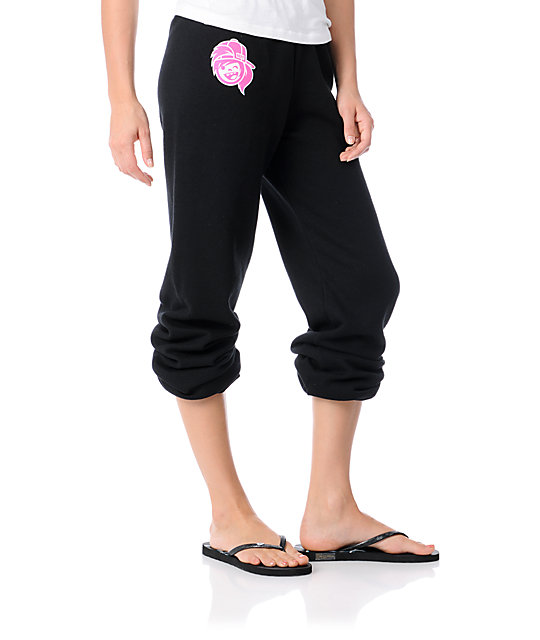 Neff Jazz Pants Black Sweatpants