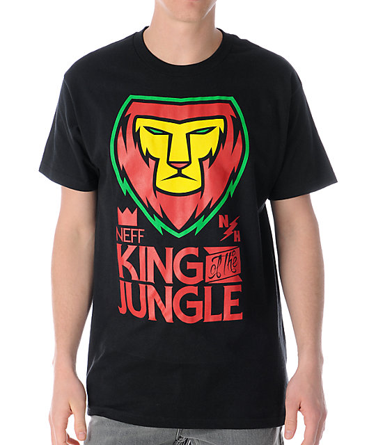 Neff King Rasta Crew Neck T-Shirt
