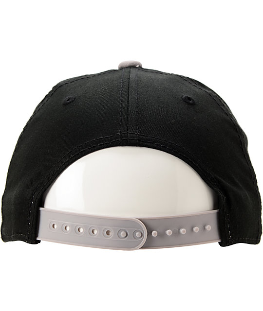 Neff Legit Black & Grey Snapback Hat