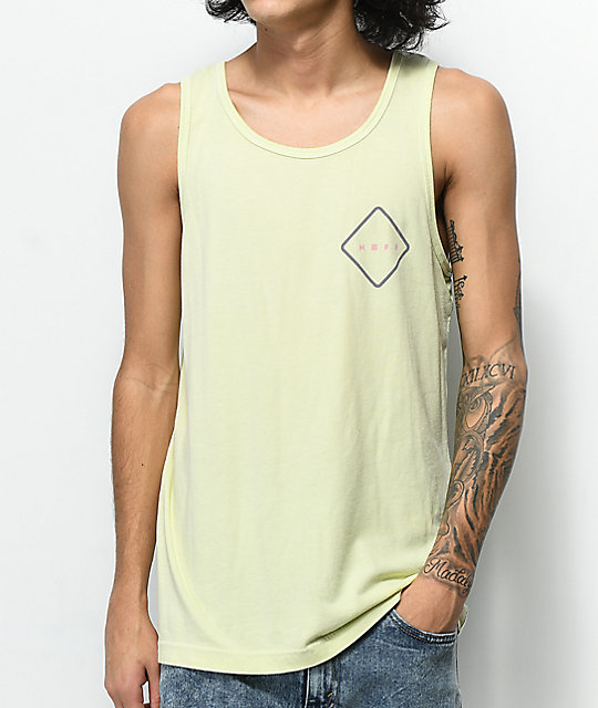 Neff Logo Lock Lemonade Tank Top