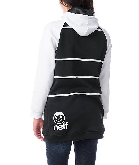 Neff Lucky Black & White Tech Fleece Jacket