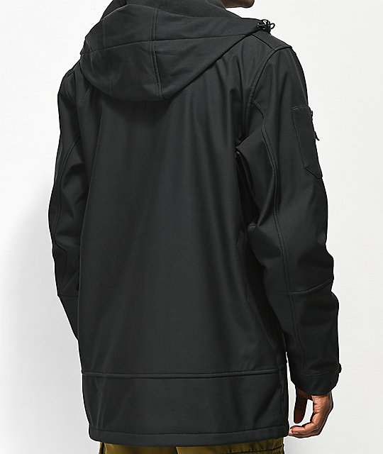 Neff Military Black 10K Softshell Jacket