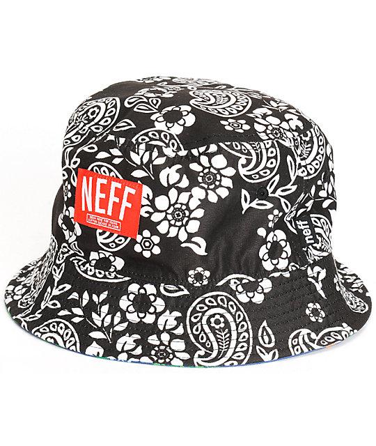 edebf20dd70 Neff Paislife Reversible Bucket Hat