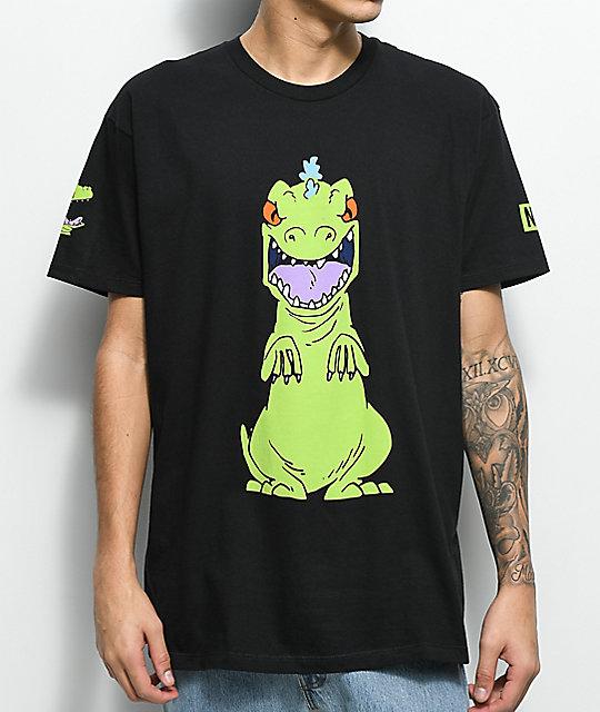ead40d0d2 Neff Reptar Rugrats Black T-Shirt | Zumiez