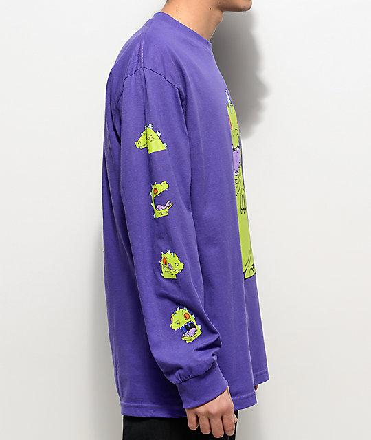 ce602741ae8 ... Neff Reptar Rugrats Purple Long Sleeve T-Shirt ...