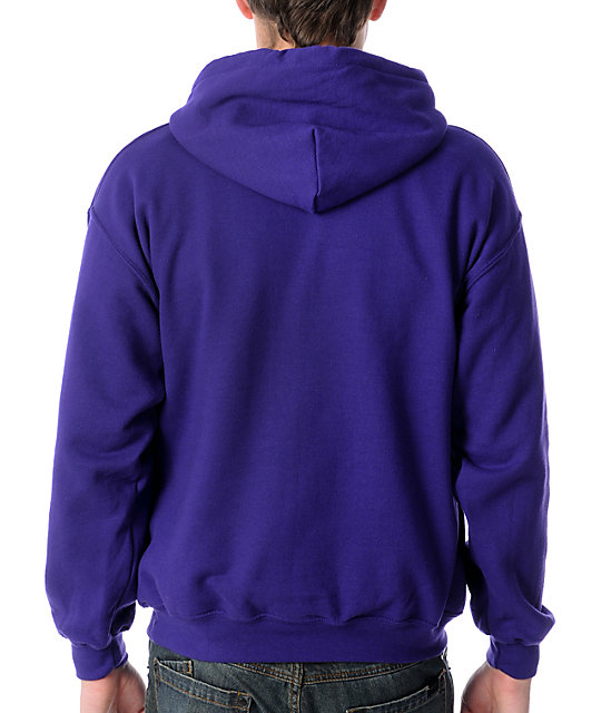 Neff Shatter Purple Pullover Hoodie