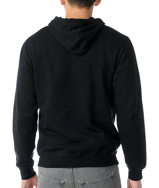 Neff So Clean Black & Purple Pullover Hoodie