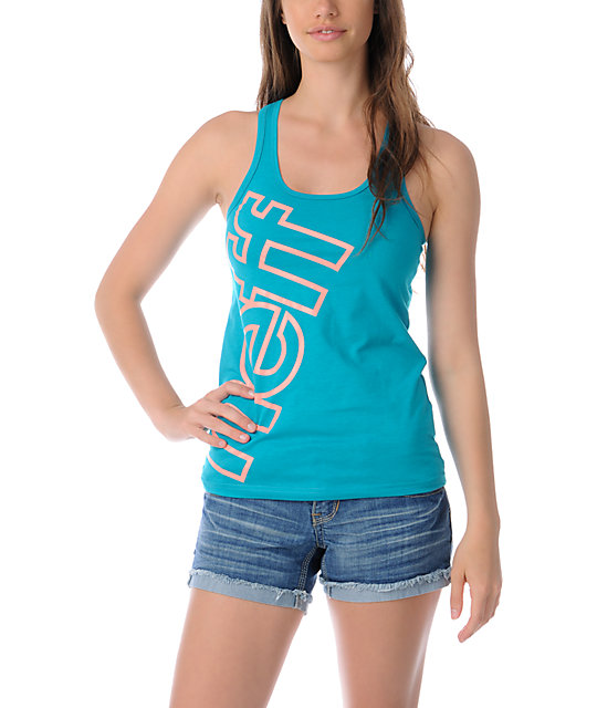 Neff Solidarity Turquoise Tank Top