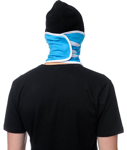 Neff Suckerface Cyan Face Mask Bandana