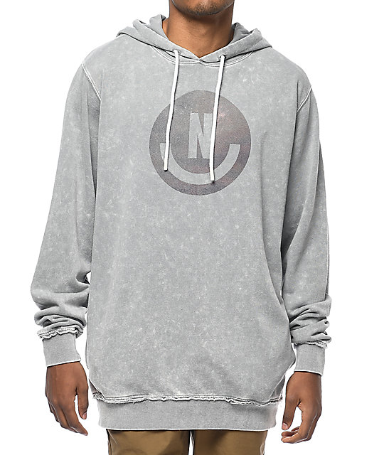 Neff Throwback Light Grey Hoodie ...