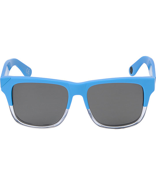 Neff Thunder Cyan & Clear Polarized Sunglasses