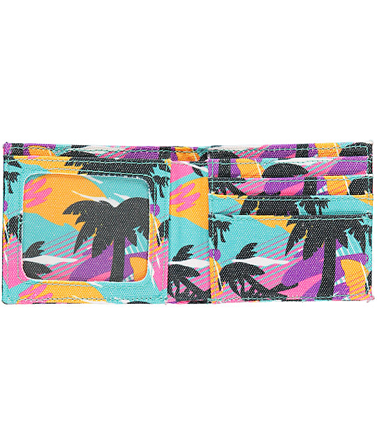 Neff Wally Palms Bi-Fold Wallet