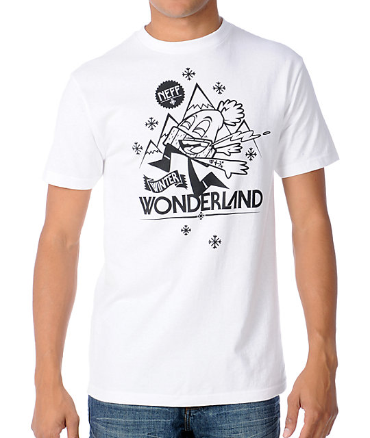 Neff Winter Wonderland White T-Shirt
