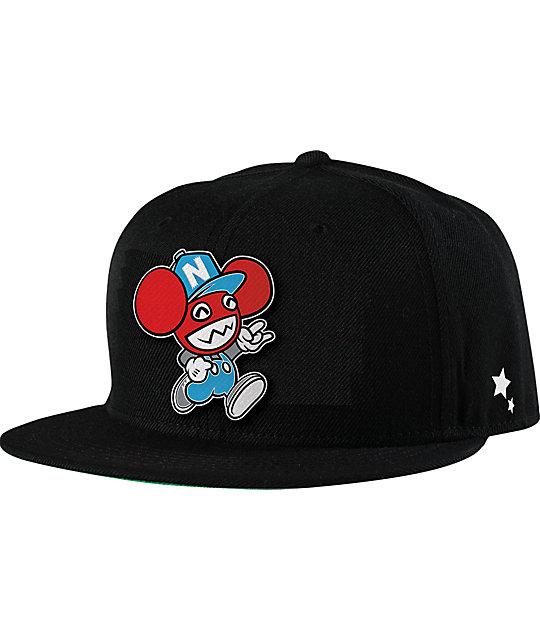 Neff x Deadmau5 1Up Cap Snapback Hat  68eb6f34c3e