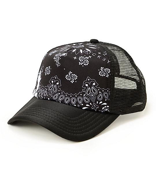 Neff x Disney Mickey Bandana Trucker Hat  117fe83ed51