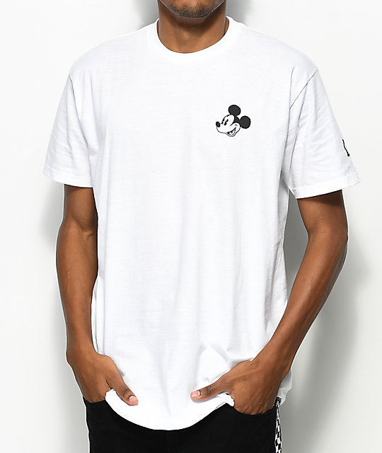Neff x Disney Mickey No Worries camiseta blanca