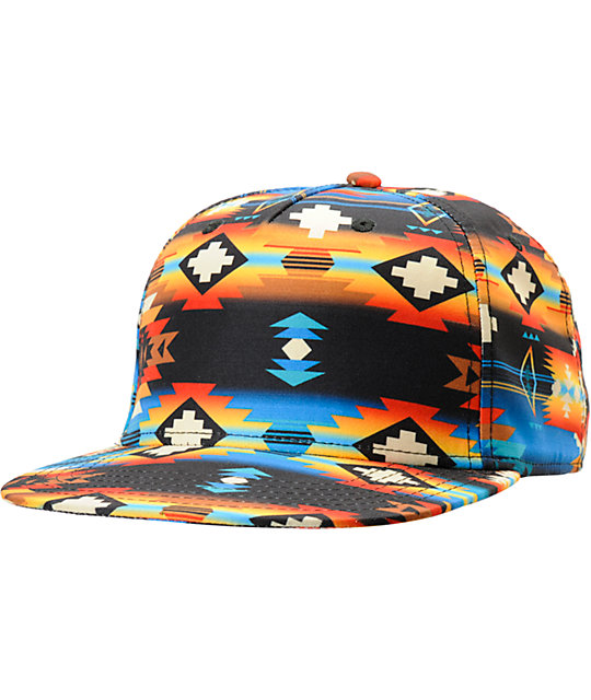 Neff x Mac Miller Machahat Tribal Print Snapback Hat  df2717958f1