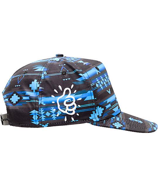 ... Neff x Mac Miller Milltop Blue Snapback Hat 4d48b902876e