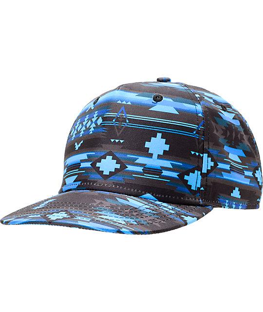 Neff x Mac Miller Milltop Blue Snapback Hat  955bc9eb258c