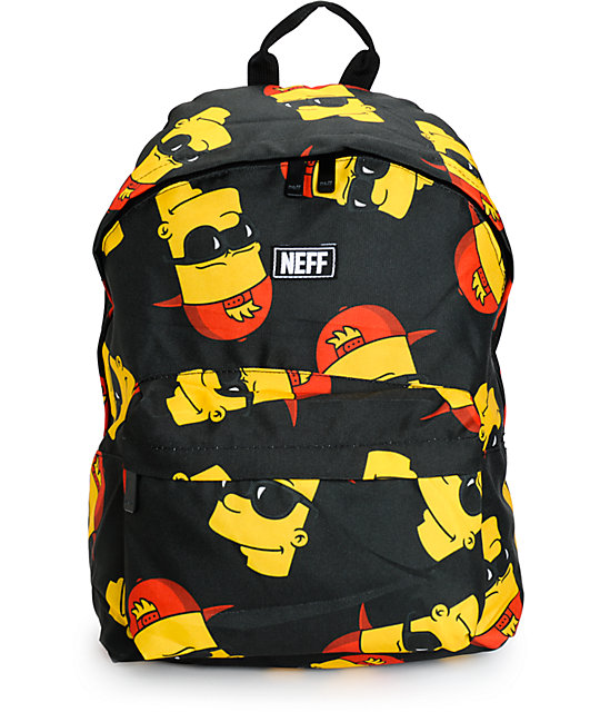 Neff x The Simpsons Bart Steez Backpack  b248bb1457074