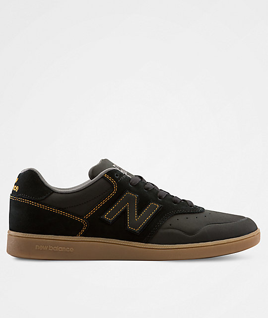 magasin en ligne 9235a ec320 New Balance 288 Black & Gum Shoes