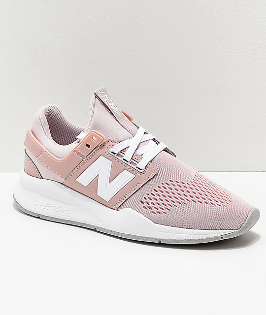 New Balance Lifestyle 247 Classic Conch Shell   White Shoes  21005f6af6