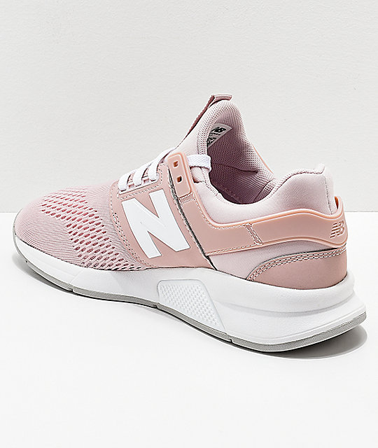 New Balance Lifestyle 247 Classic Conch Shell & White Shoes