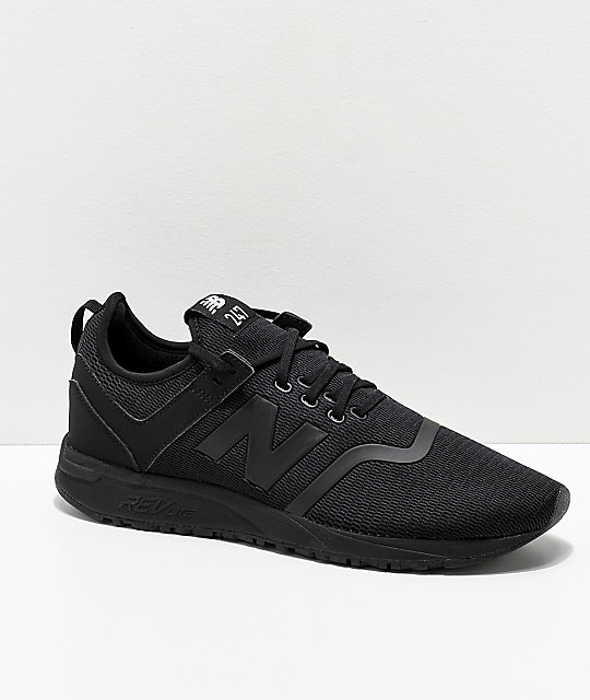 New Balance Lifestyle 247 Deconstructed Black Shoes
