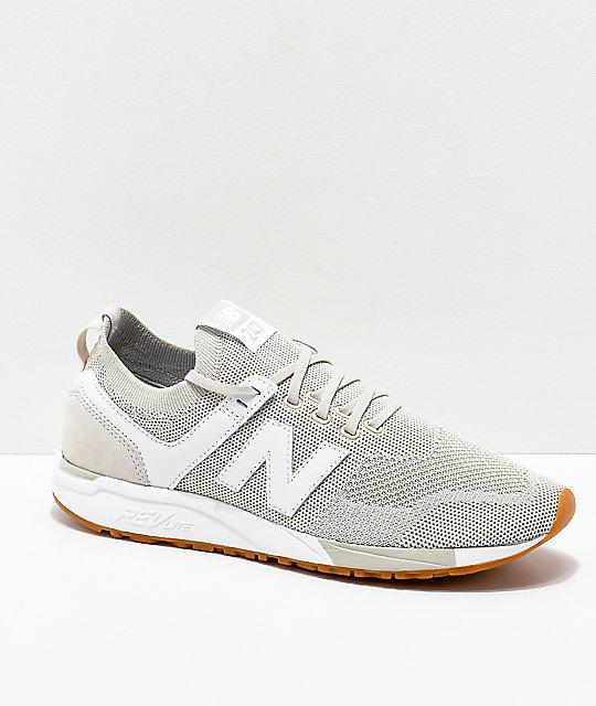 New Balance Lifestyle 247 Deconstructed Moonbeam zapatos blancos